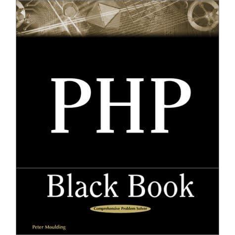 PHP BLACK BOOK PDF