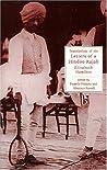 Letters of a Hindu Rajah (Broadview Literary Texts)