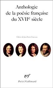 Anthologie de la poésie française du XVIIe siècle