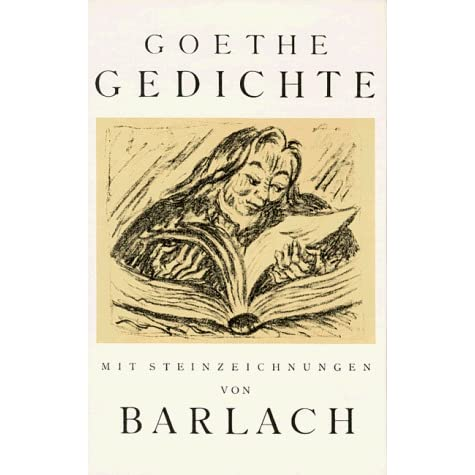 Gedichte By Johann Wolfgang Von Goethe