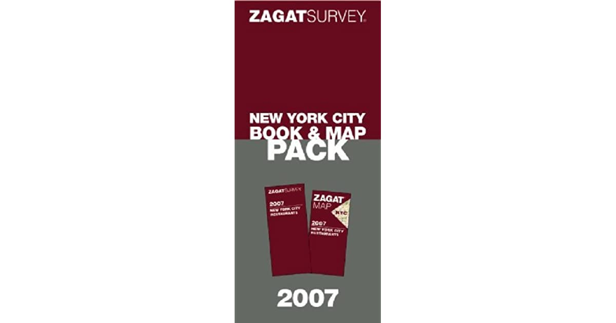 Zagat 2007 New York City Book & Map Pack by Carol Diuguid on