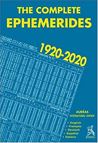 The Complete Ephemerides 1920-2020, International Edition by Francis