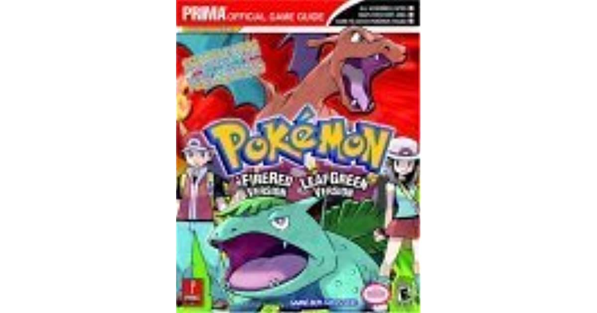 Pokemon Fire Red Guide Book