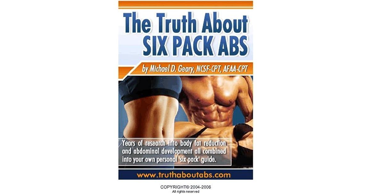 La vérité sur Six Pack Abs de Mike Geary   – abdo