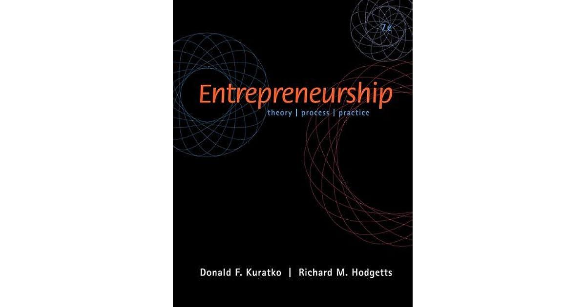 Kuratko pdf f entrepreneurship introduction to donald