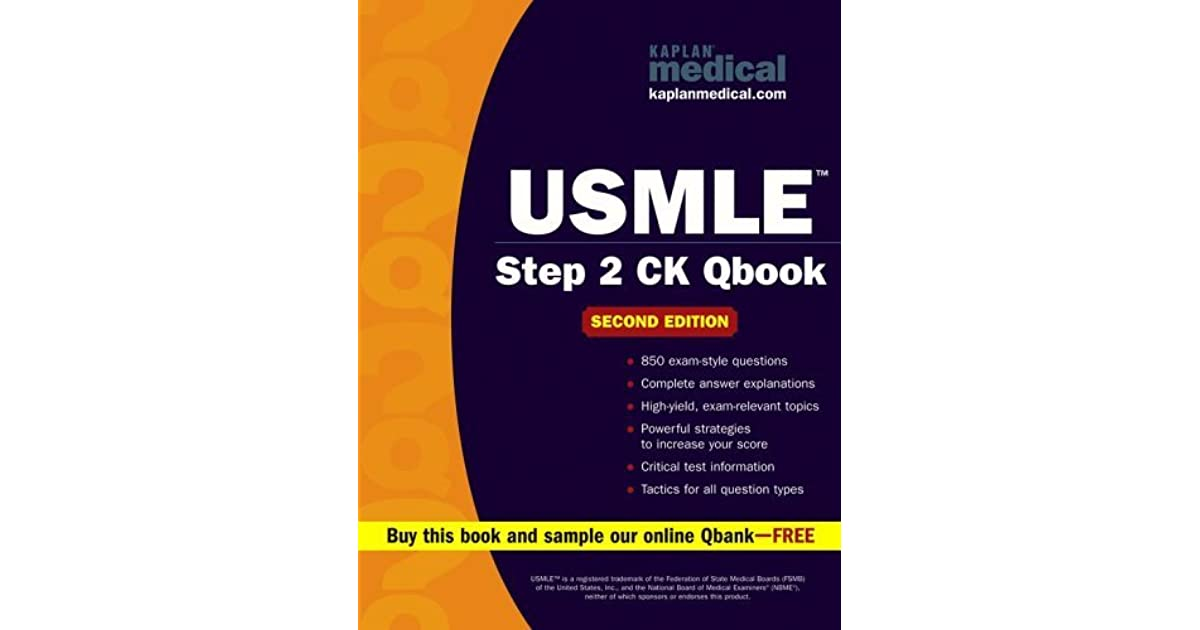 USMLE Step 2 Ck Qbook by Kaplan Inc