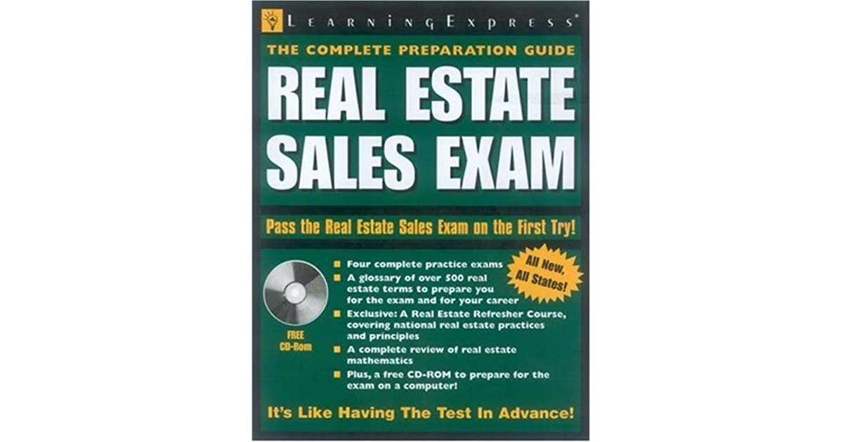 Real Estate Sales Exam by LearningExpress
