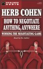 How to Negotiate Anything, Anywhere