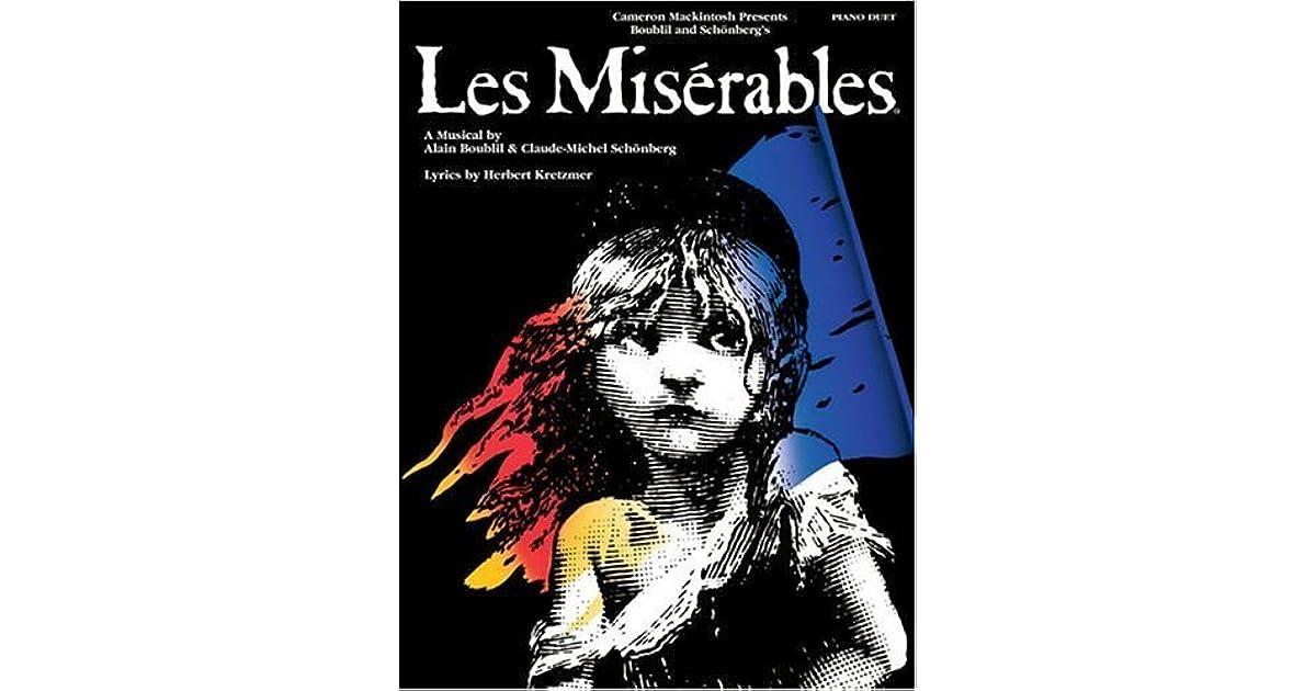Les Miserables: Sheet Music by Claude-Michael Schonberg