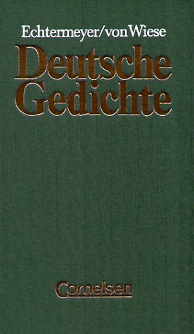 Deutsche Gedichte Von Den Anfängen Bis Zur Gegenwart By