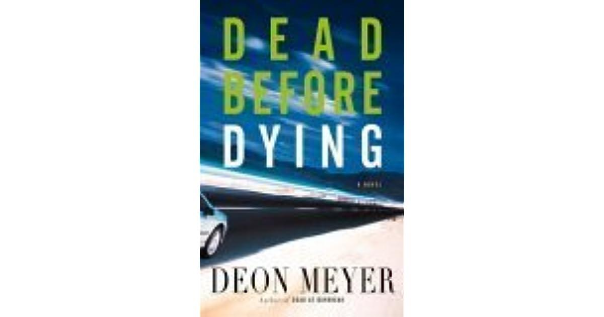 Dead before dying by deon meyer fandeluxe Gallery