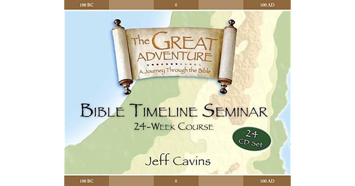 Great Adventure Bible Timeline 24 week cd's by Jeff Cavins