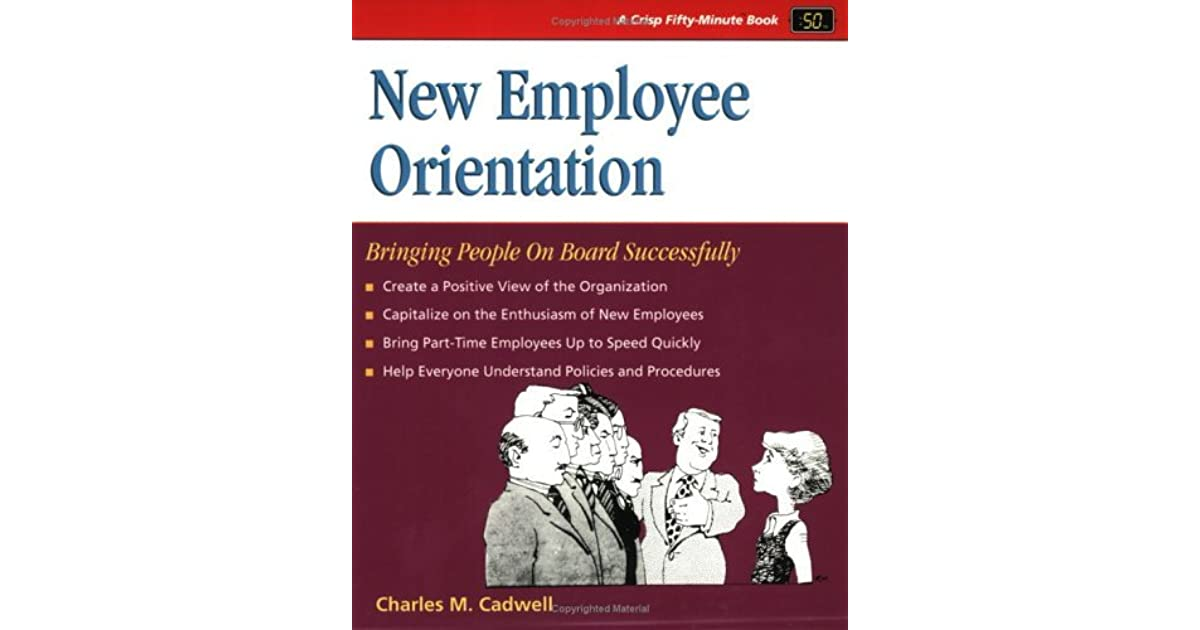 script for orienting new employees Isunew a supervisor's guide to the new employee welcome program what this guide will do for you the office of human resources at.