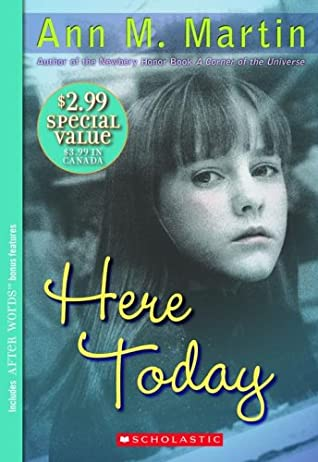 Here Today cover art with link to Goodreads description