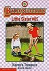 Karen's Treasure (Baby-Sitters Little Sister, #85)