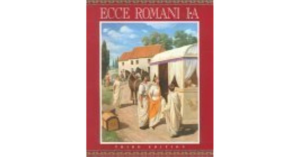 Ecce Romani Level 1 A By Gilbert Lawall