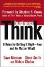 businessThink-Rules-for-Getting-It-Right-Now-and-No-Matter-What-