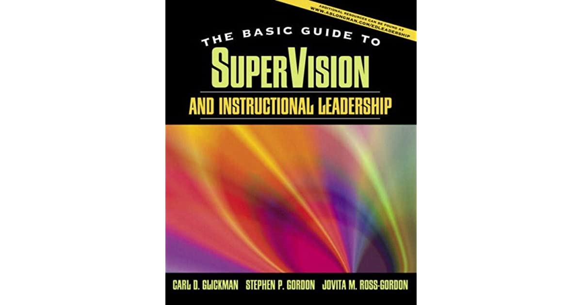 Supervision And Instructional Leadership Brief Edition By Carl D