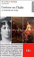 Corinne ou l'Italie de madame de Stael