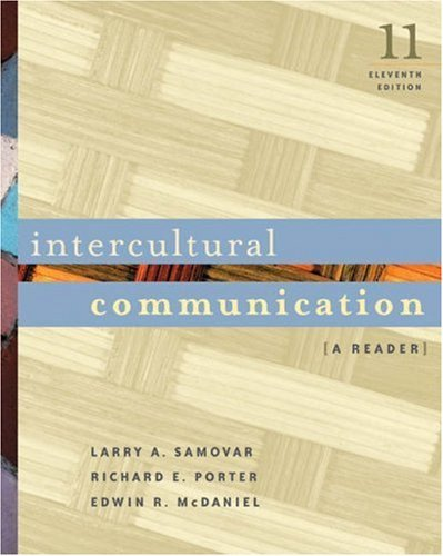 Intercultural Communication A Reader, 13th edition