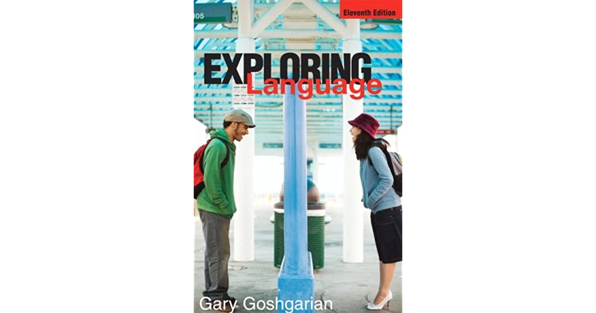 Exploring language by gary goshgarian fandeluxe Image collections