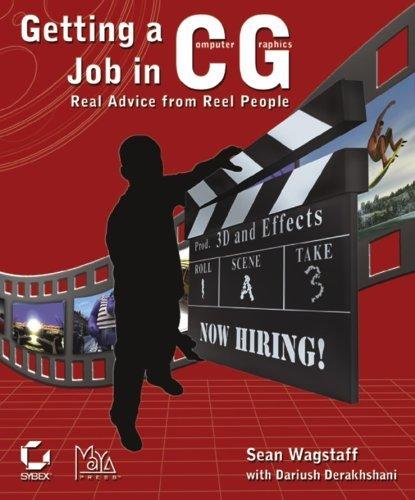 getting a job in cg