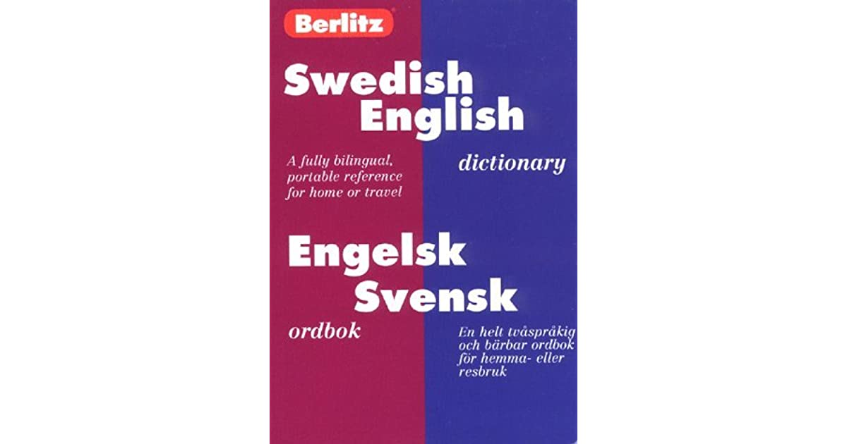 swedish pocket dictionary berlitz