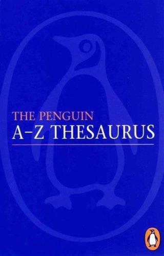 The Penguin A Z Thesaurus Rosalind Fergusson