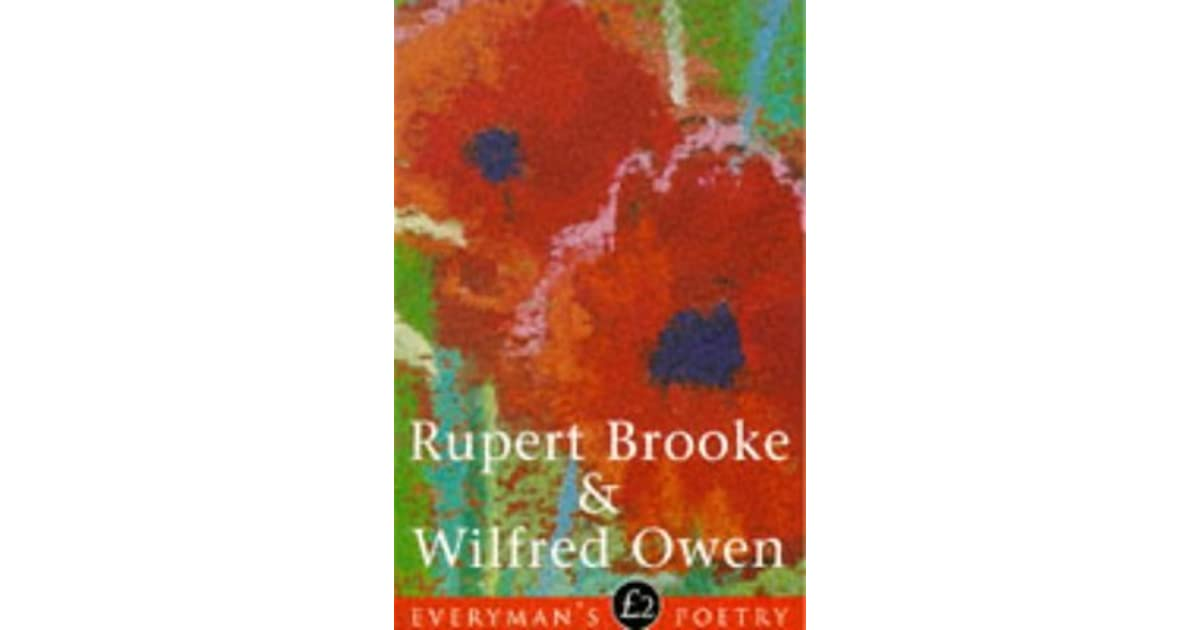 an analysis of the war poems by rupert brooke mc crae and wilfred owen A shit poet i prefer poems by owen and sassoon brooke proper gets on my from what wilfred owen i peace analysis rupert brooke characters.