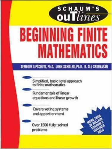outline beginning finite mathematics