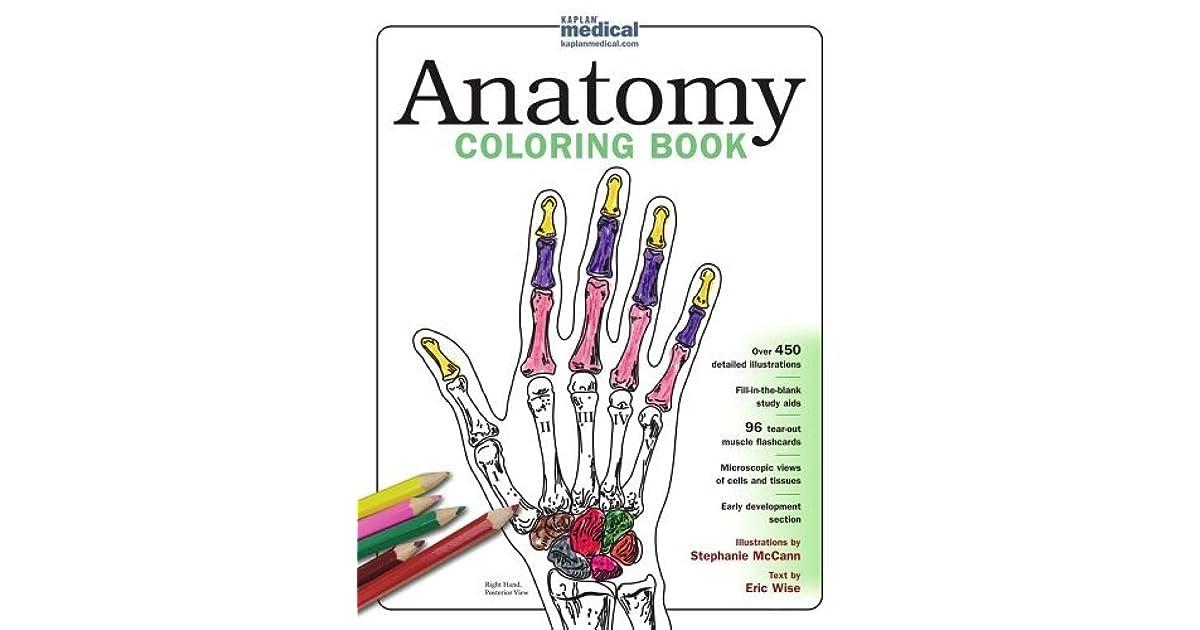 Kaplan Anatomy Coloring Book by Stephanie McCann