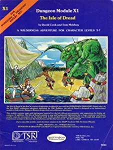 The Isle of Dread (Dungeons and Dragons Module X1)