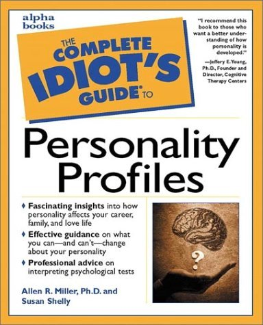Book cover Complete Idiot's Guide to personality profiles
