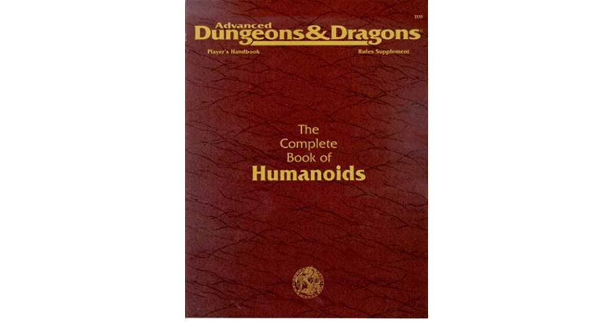 Complete Book Of Humanoids