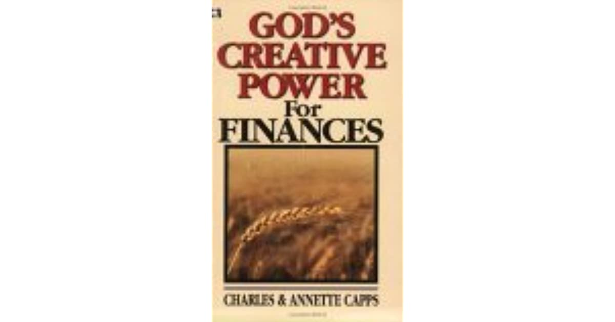 God's Creative Power Finances DS by Charles Capps