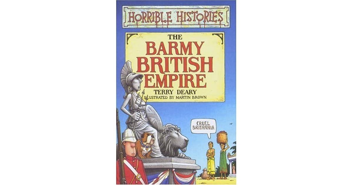 horrible histories barmy british empire