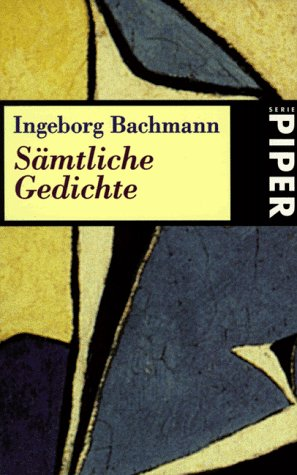 Darkness Spoken The Collected Poems Of Ingeborg Bachmann By