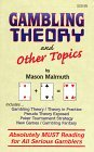 Gambling Theory and Other Topics