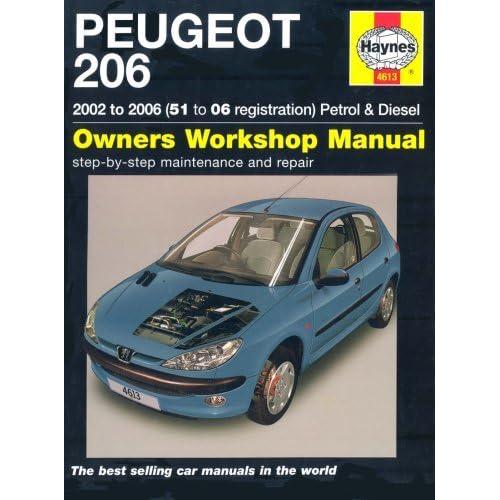 peugeot 206 petrol and diesel service and repair manual 2002 to rh goodreads com Peugeot 206 Owners Handbook Peugeot 206 User Manual