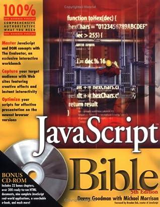 Javascript Bible By Danny Goodman