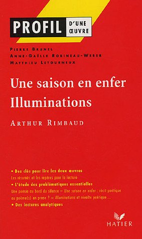 Une Saison En Enfer 1873 Illuminations 1886 1895