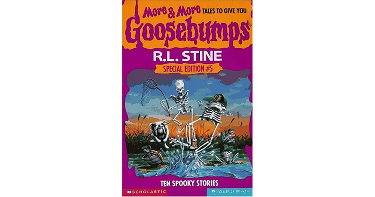 More more tales to give you goosebumps ten spooky stories by rl more more tales to give you goosebumps ten spooky stories by rl stine fandeluxe Gallery