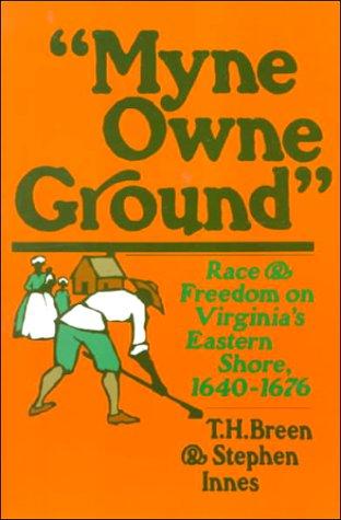 myne owne ground main point