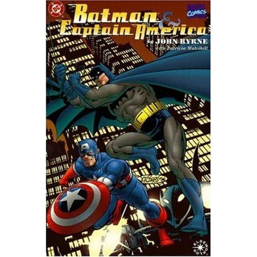 batman captain america by john byrne