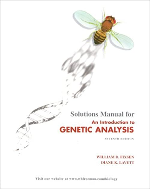 solutions manual for introduction to genetic analysis seventh rh goodreads com introduction to genetic analysis solutions manual download solutions manual for introduction to genetic analysis eleventh edition