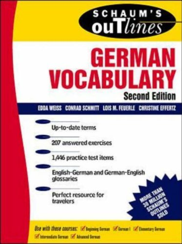 outline of German vocabulary