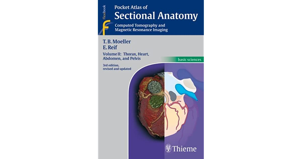 Pocket Atlas Of Sectional Anatomy Computer Tomography And Magnetic