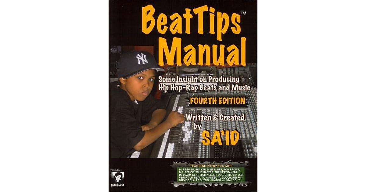 Beattips Manual: Some Insight on Producing Hip Hop-Rap Beats