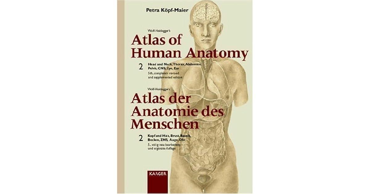 Fein Atlas Der Anatomie Des Menschen Durch Nette Zeitgenössisch ...