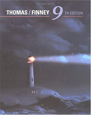 Calculus and Analytic Geometry by George B  Thomas Jr